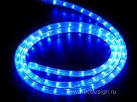 Подсветка дюролайт синяя 400руб.