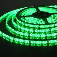 Светодиодная лента зеленая 5м, 990руб.